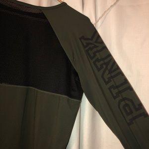 PINK Mesh Back Long Sleeve - RUNS BIG!